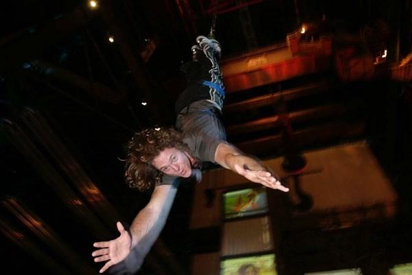 Indoor Bungee Jump Experience