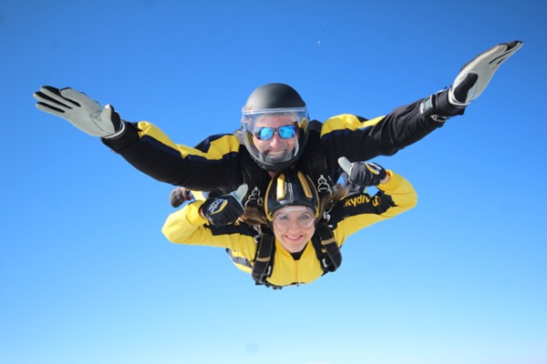 15000ft Tandem Skydive For One