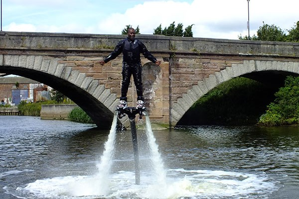 Click to view details and reviews for 30 Minute Flyboarding Experience.
