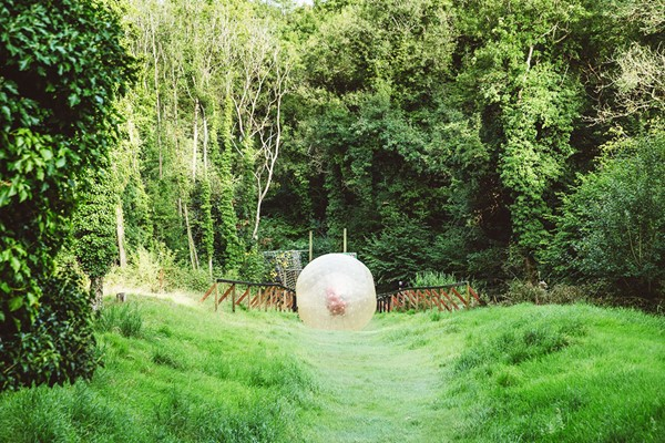 Click to view product details and reviews for Harness Zorbing For Two At London South.