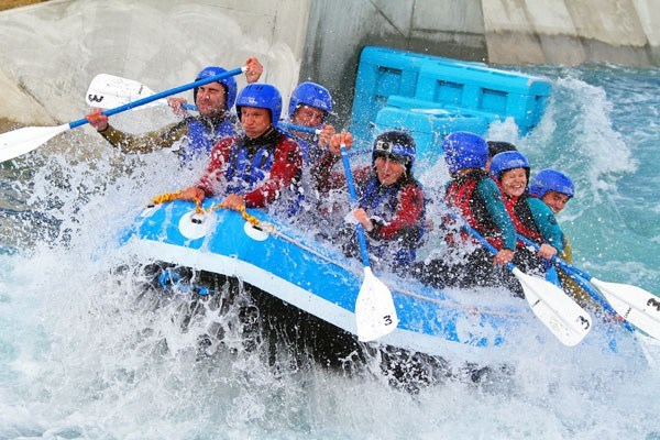White Water Rafting For Two At Lee Valley Weekround