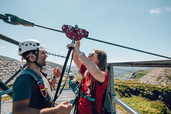 Zip World Titan Experience With Overnight Stay At The Royal Victoria Snowdonia - Week Round