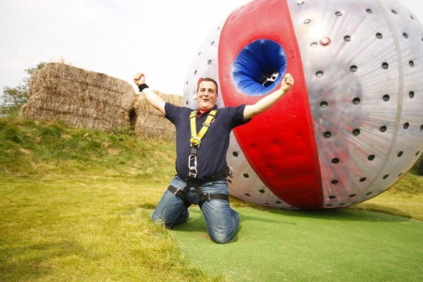 Click to view product details and reviews for Harness Zorbing For Two Special Offer.