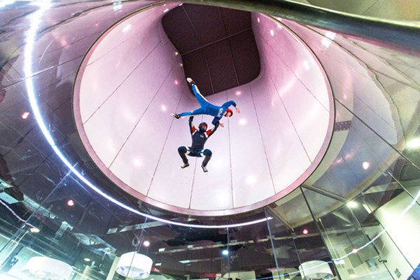 Ifly Extended Indoor Skydiving Experience Peak Time