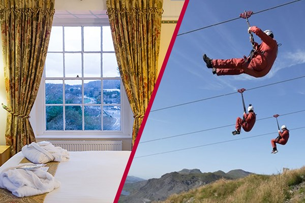 Click to view product details and reviews for Zip World Titan Experience With Overnight Stay At The Royal Victoria Snowdonia Week Round.