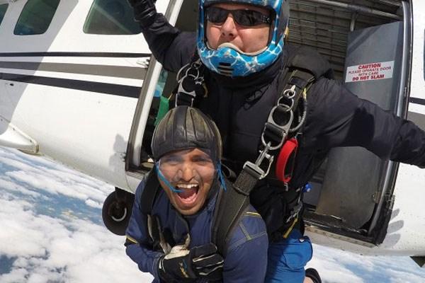 Intermediate Tandem Skydive