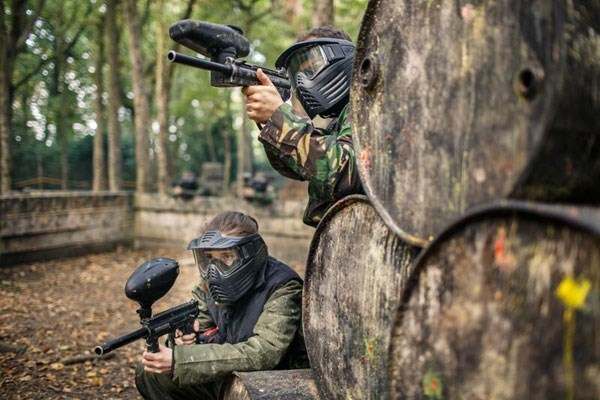 Click to view product details and reviews for Full Day Paintballing For Four.