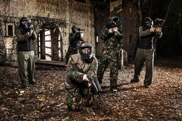 Click to view product details and reviews for Full Day Paintballing For Eight.