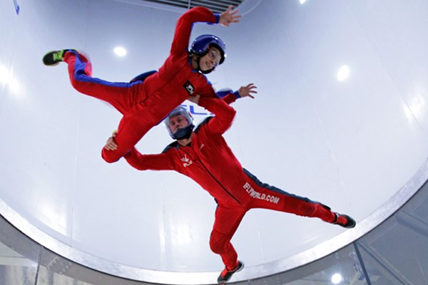 Ifly Indoor Skydiving In Milton Keynes  Weekround