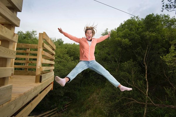 Hangloose At The Eden Project – Adventure Package For Two