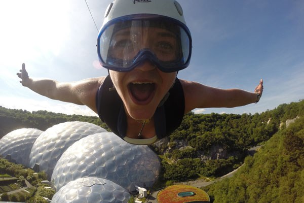 Click to view product details and reviews for Hangloose At The Eden Project – Adrenaline Package For Two.