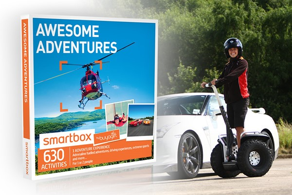 Click to view product details and reviews for Awesome Adventures Smartbox By Buyagift.