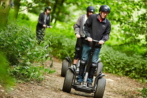 60 Minute Segway Adventure For Two With Three Course Meal At Zizi