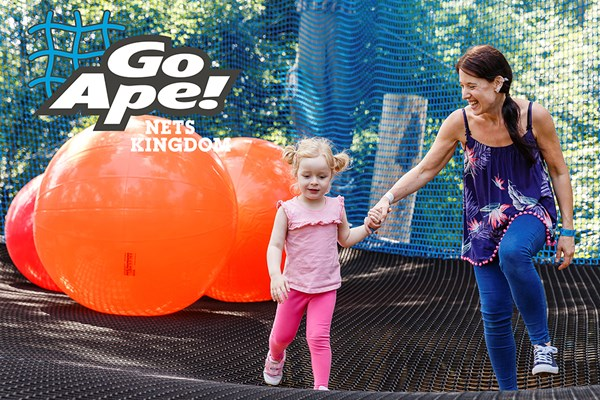Nets Kingdom Experience For One Adult And One Child At Go Ape