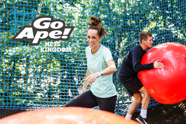 Nets Kingdom Experience For One Adult And One Toddler At Go Ape