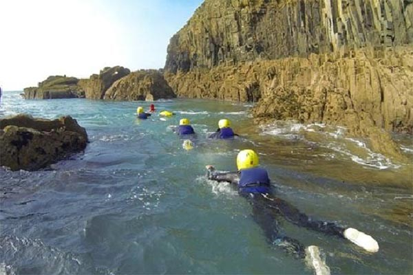 Half Day Coasteering For One At Preseli Venture