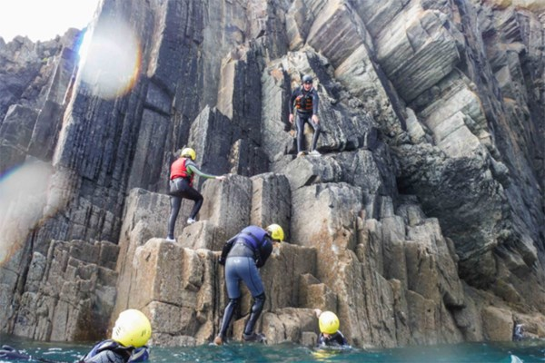 Half Day Coasteering Experience For Two At Preseli Venture