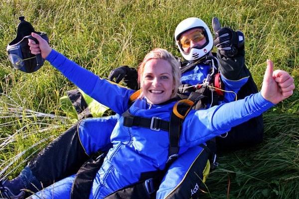 Tandem Skydive In Cambridgeshire