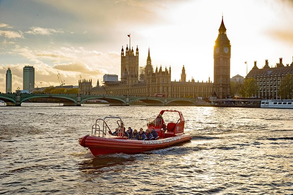 Thames Rockets Break The Barrier River Cruise For Two