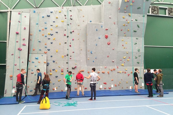 Indoor Climbing For Two With Savage Adventures