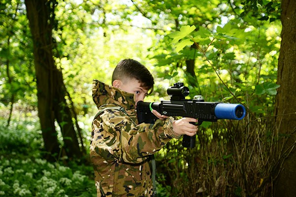 Forest Laser Tag With Lunch For Two Children