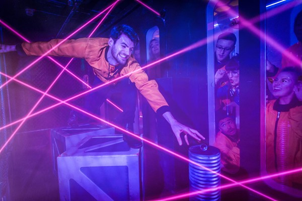 Crystal Maze Live Experience With Cocktails For Two  London