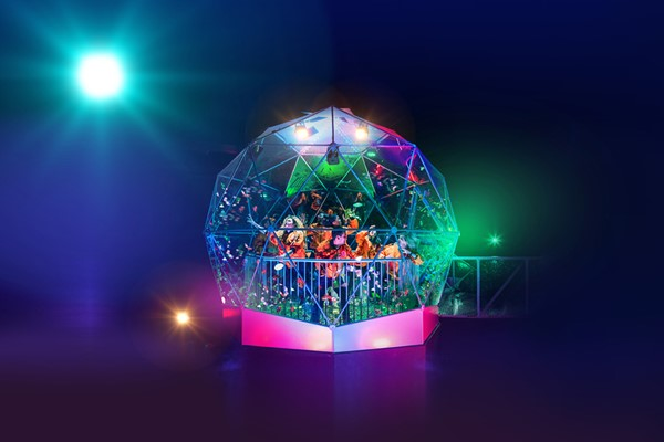 The Crystal Maze Live Experience With Souvenir Crystal For Two In London – Week Round