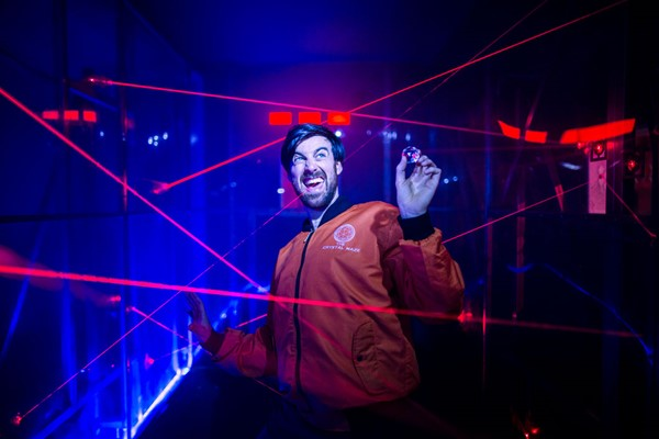 The Crystal Maze Live Experience With Souvenir Crystal For Two In London  Weekdays