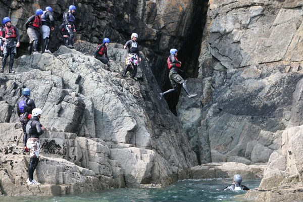 Half Day Coasteering Experience For Two
