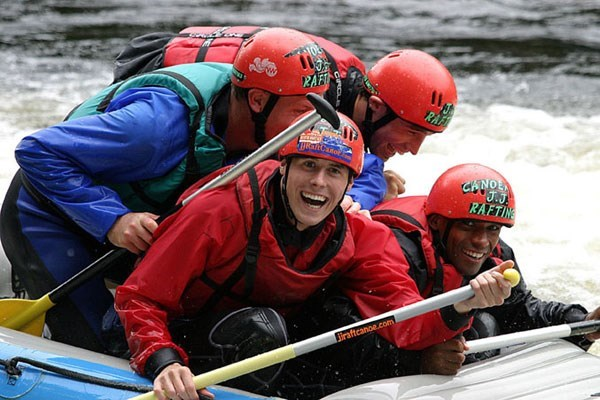 White Water Rafting For Two At Lee Valley - Weekround