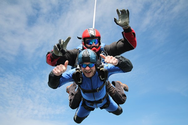 Tandem Skydive - UK Wide