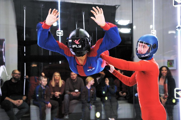 Ifly Indoor Skydiving And Virtual Reality Flight - Weekround