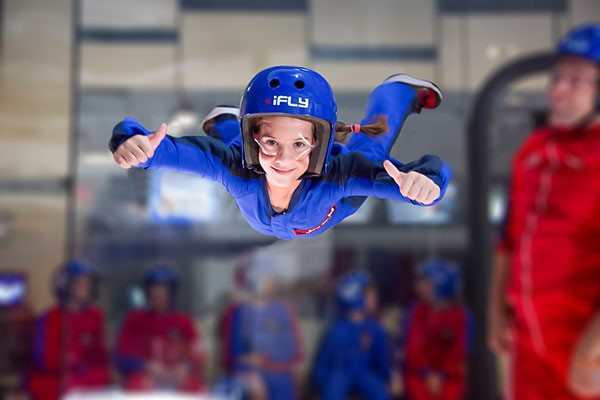 Family Indoor Skydiving - Weekround