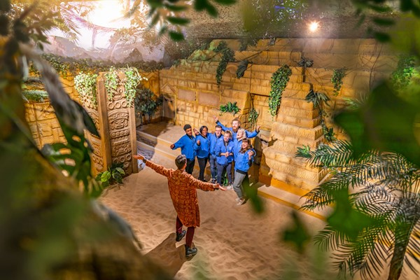 Crystal Maze Live Experience With Cocktails For Two In London