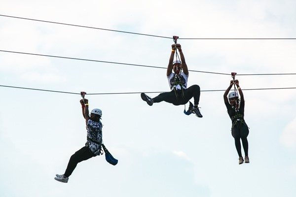 City Zip And Mega Drop For Two