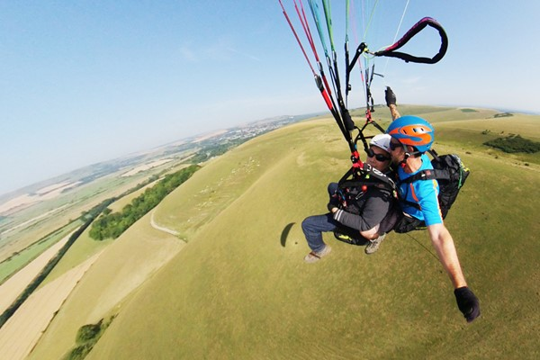 Click to view product details and reviews for 25 Minute Paragliding Flight Experience For Two.