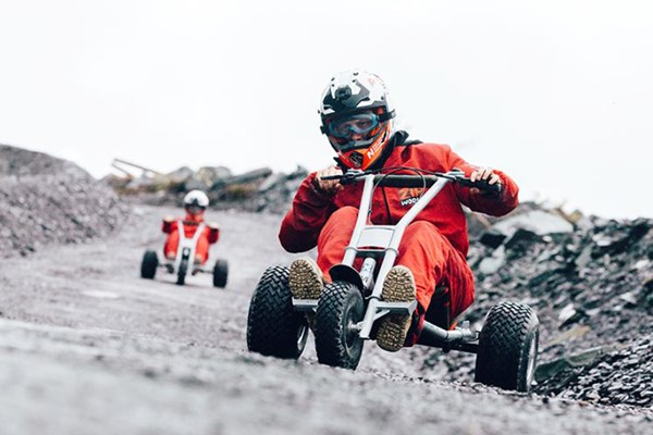 Quarry Karts And Velocity For Two - Midweek