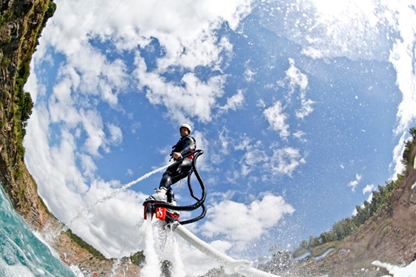 Click to view details and reviews for One Hour Flyboarding Experience In Chepstow.