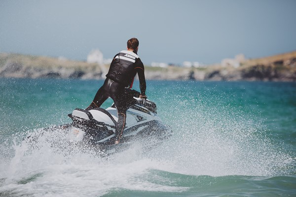 Click to view product details and reviews for 50 Minute Hands On Open Water Jet Ski Safari For One.