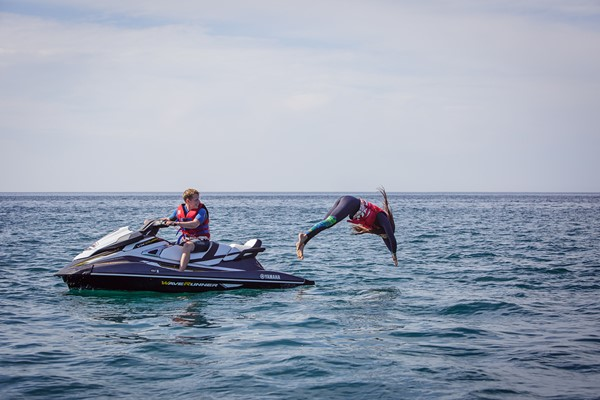 Click to view details and reviews for 50 Minute Hands On Open Water Jet Ski Safari For Two.