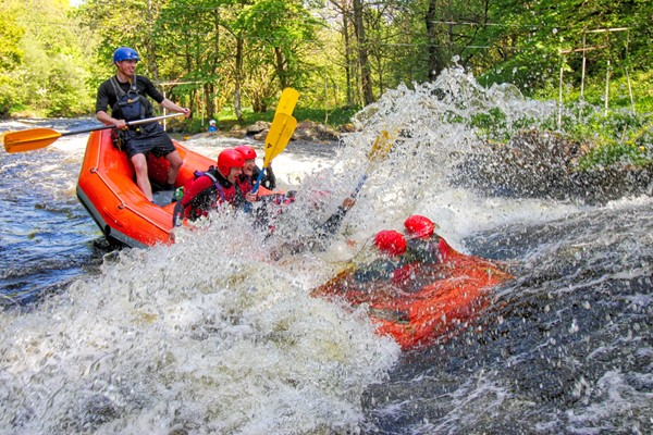 Two Hour Full White Water Rafting Session For One