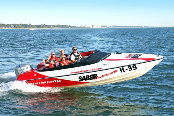 Family Honda Powerboat Adventure For Four In Southampton