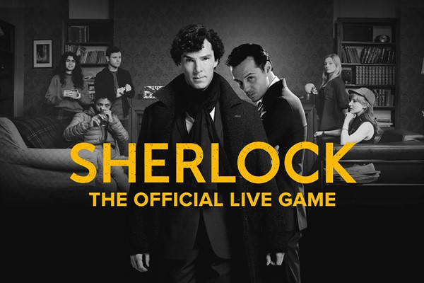 Sherlock: The Official Live Game Experience With A Glass Of Prosecco For Two  Special Offer