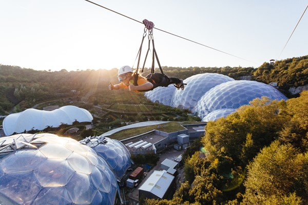 Hangloose At The Eden Project – Zip Wire For One