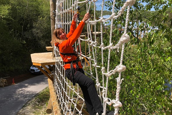 Click to view product details and reviews for Hangloose At The Eden Project – Skytrek For Two.