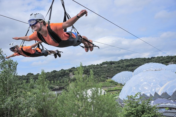 Hangloose At The Eden Project  The Expedition Package For Two