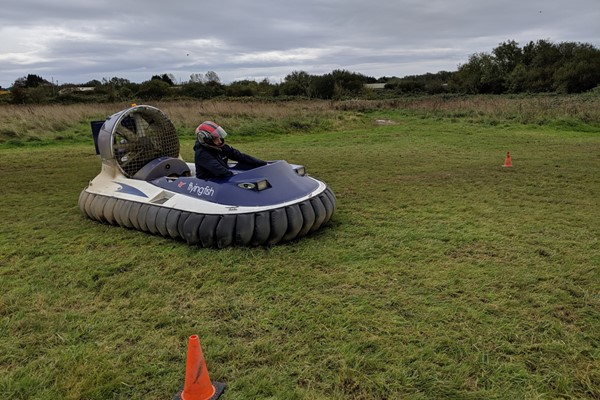 Click to view product details and reviews for 5 Lap Hovercraft Experience For One.