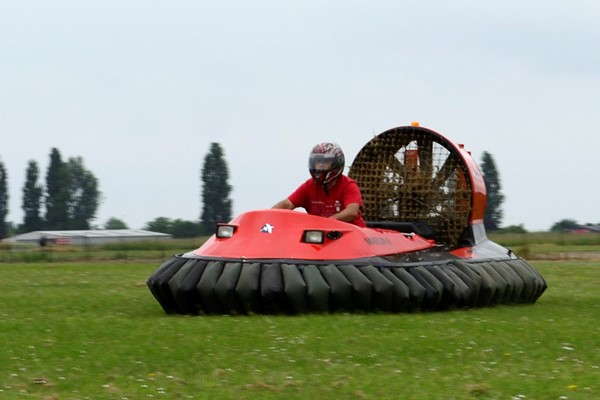 15 Lap Hovercraft Experience For One
