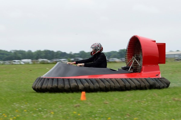 10 Lap Hovercraft Experience For One