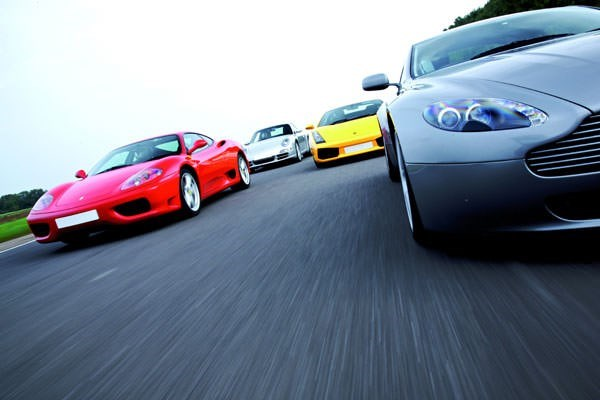 Four Supercar Driving Thrill With Passenger Ride